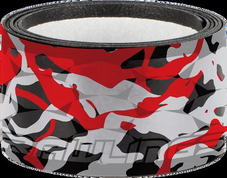 GRIPPS-REDWAVE red, grey and black batting grip