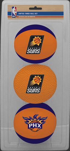 Rawlings Purple and Brown NBA Phoenix Suns Three-Point Softee Basketball Set With Team Logo SKU #03524221114
