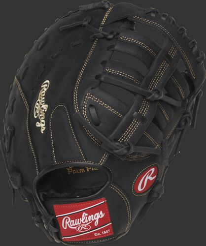 RFBMB 12.5-inch Renegade Series recreational first base mitt with a black back
