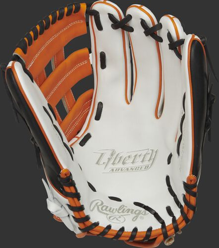 Liberty Advanced Color Series 13-Inch Outfield Glove Orange/Black