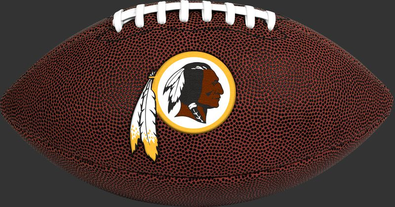 Brown NFL Washington Redskins Football With Team Logo SKU #07081087811