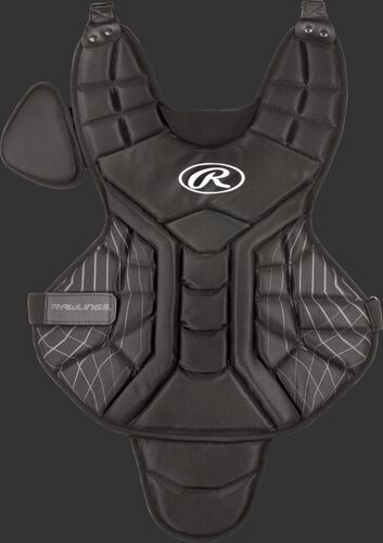A black ACACPPLY Players Series youth 14-inch chest protector