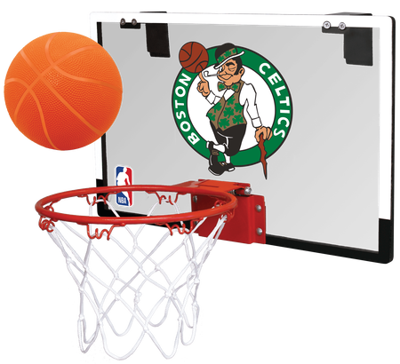 NBA Boston Celtics Game On Hoop Set