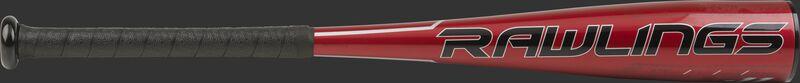 TBZQ11 USA Quatro Pro t-ball bat with a red barrel and black logo