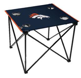 NFL Denver Broncos Deluxe Tailgate Table