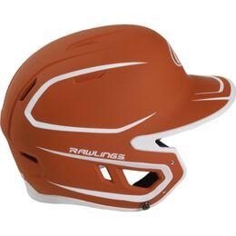 Mach Senior Two-Tone Matte Helmet Texas Orange
