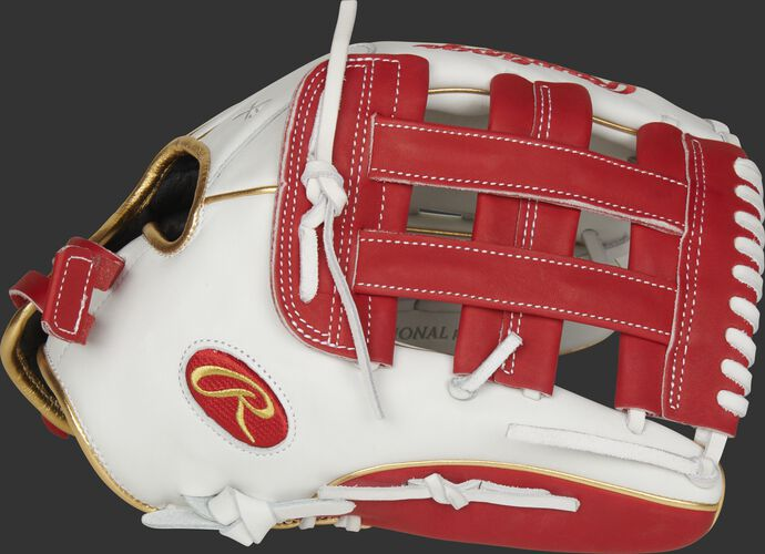 Liberty Advanced Color Series 13-Inch Outfield Glove White/Scarlet