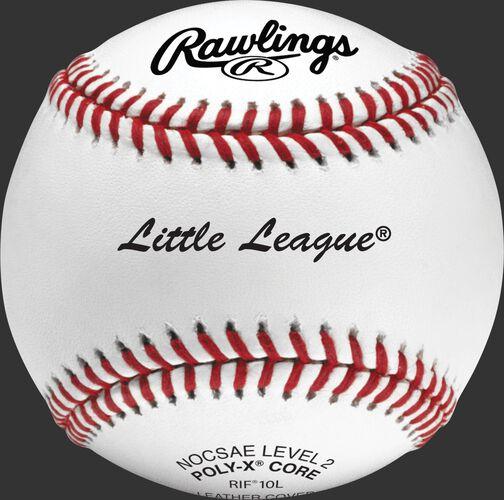 RIF10L RIF Little League training baseball with raised seams