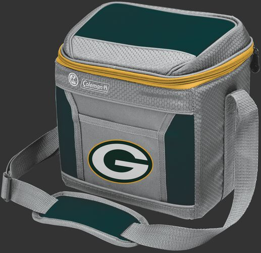 Rawlings Green Bay Packers 9 Can Cooler In Team Colors With Team Logo On Front SKU #03281068111