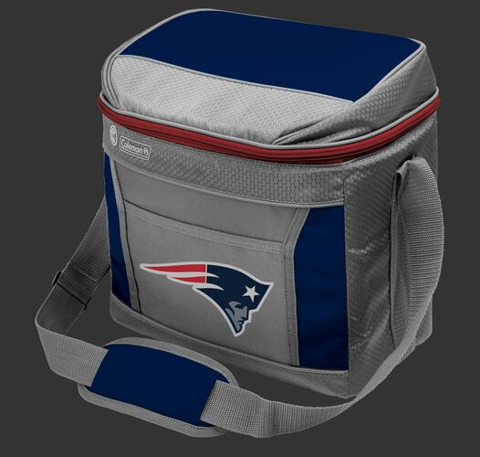 Rawlings New England Patriots 16 Can Cooler In Team Colors With Team Logo On Front SKU #03291076111