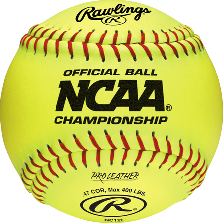 "NCAA Official 12"" Softballs"
