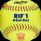 "SR11RYSA USA RIF 11"" softball with ASA stamp image number null"