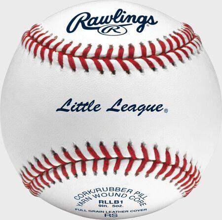 Little League® Competition Grade Baseballs | 3, 6 Pack or Dozen