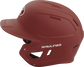 MACH Rawlings batting helmet with a one-tone matte cardinal shell image number null