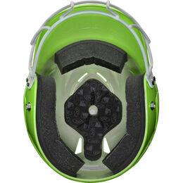 Coolflo High School/College Batting Helmet Neon Green