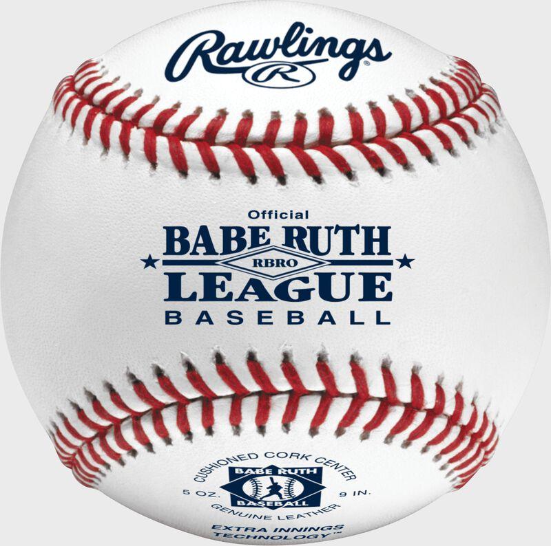 RBRO Babe Ruth tournament grade baseball with raised seams