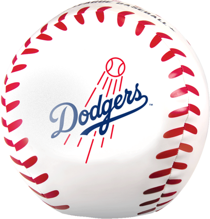 "MLB Los Angeles Dodgers Big Boy 8"" Softee Baseball"