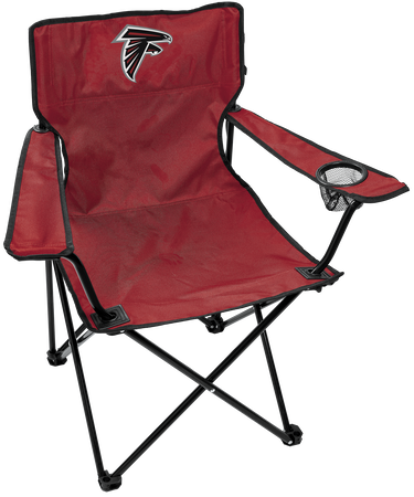 NFL Atlanta Falcons Gameday Elite Chair with team colors and logo on the back