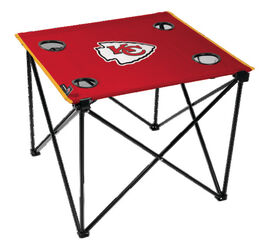 NFL Kansas City Chiefs Deluxe Tailgate Table