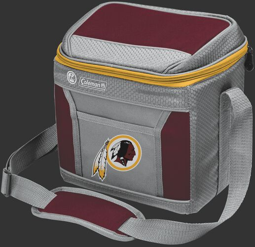 Rawlings Washington Redskins 9 Can Cooler In Team Colors With Team Logo On Front SKU #03281087111