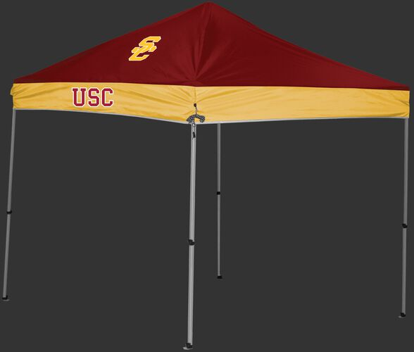 Rawlings Cardinal and Gold NCAA USC Trojans 9x9 Canopy Shelter With Team Logo and Name SKU #04033100111
