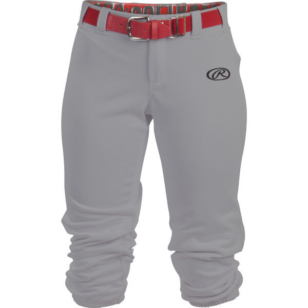 Girl's Low-Rise Softball Pant Blue Gray