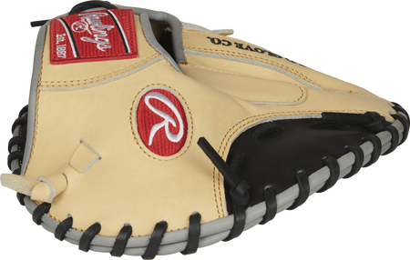 Thumb view of a PROFL12TR Heart of the Hide 28-inch Francisco Lindor pancake training mitt