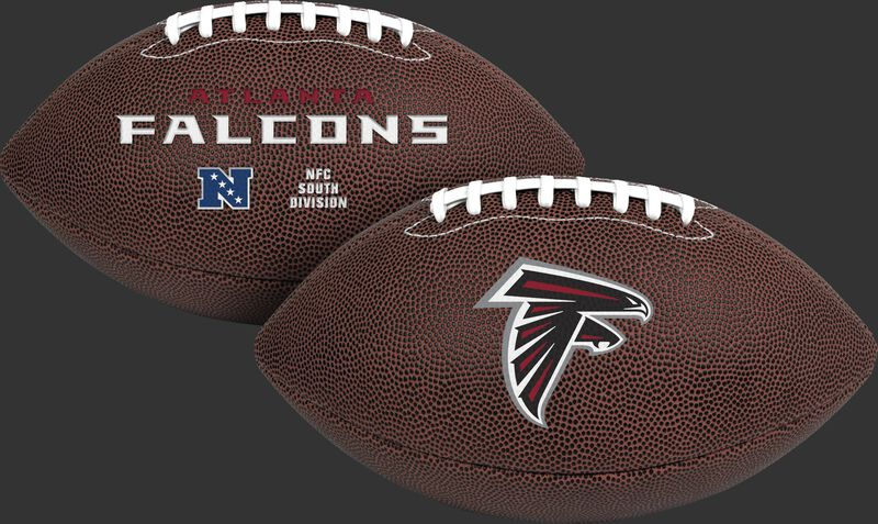 NFL Atlanta Falcons Air-It-Out youth football with team logo and team name SKU #08041060121