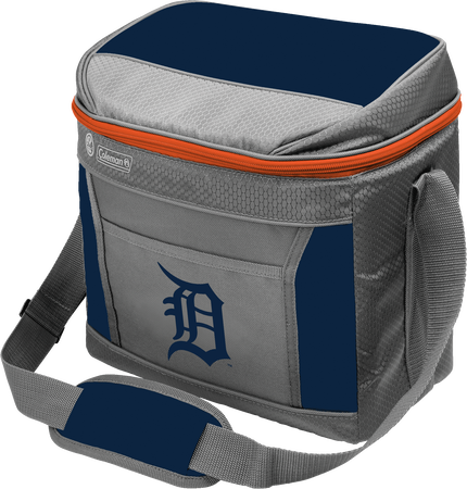 MLB Detroit Tigers 16 Can Cooler