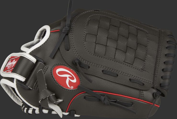 Thumb of a Players Series 11.5-inch youth infield glove with a basket web - SKU: MEIPL115GS