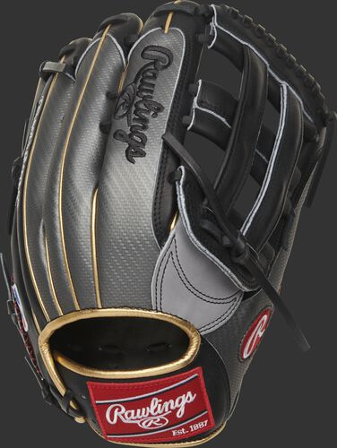 Hyper Shell back on a 2020 Bryce Harper Gameday model Heart of the Hide outfield glove - SKU: PROBH3
