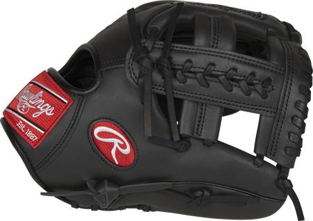 Thumb of a dark shadow GXLE204W-19DS Gamer XLE 11.5-inch infield glove with a dark shadow Laced Single-Post web