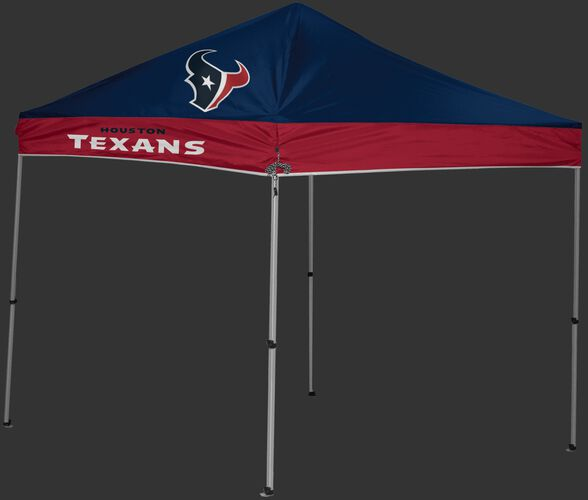 Rawlings Navy and Red NFL Houston Texans 9x9 Canopy Shelter With Team Logo and Name SKU #03231093111