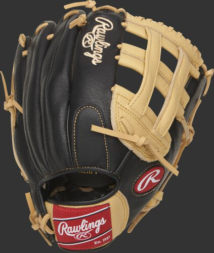 P120CBH Prodigy 12-inch youth glove with a black back