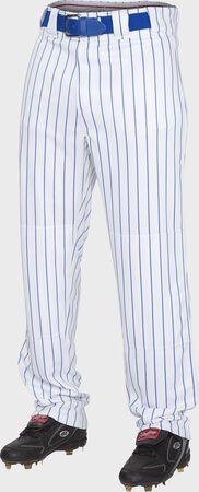 Semi-Relaxed Pinstripe Baseball Pants   Adult & Youth