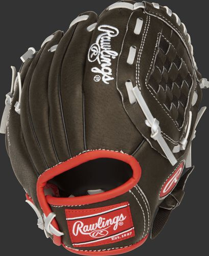 MPL950DSB 9.5-inch youth Mark of a Pro Light glove with a dark shadow back
