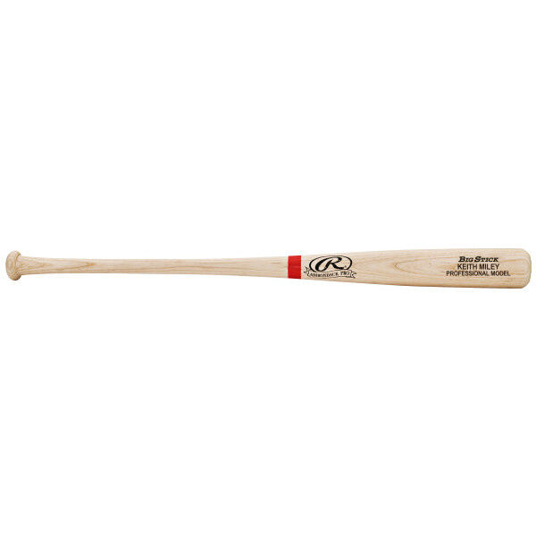 Junior Natural/Scarlet Custom Bat