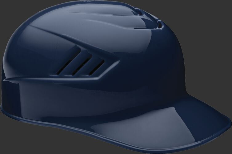 A navy CFPBH Coolflo adult base coach helmet with Coolflo vents
