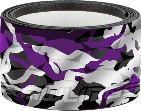 GRIPPS-PURPJOLT purple, grey and black replacement bat grip