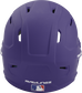 Back of a purple MACH high performance helmet with the Official Batting Helmet of MLB logo image number null