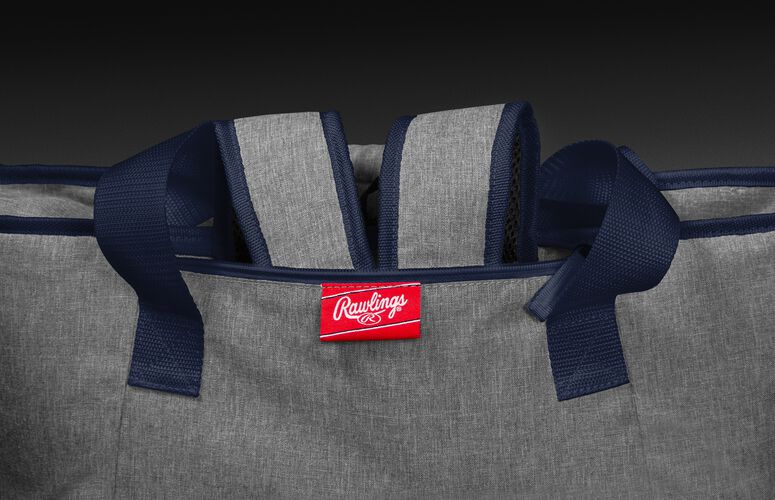 Hideaway backpack straps on a New England Patriots 30 can cooler - SKU: 10311076111