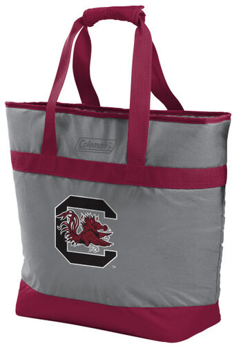 Rawlings South Carolina Gamecocks 30 Can Tote Cooler In Team Colors With Team Logo On Front SKU #07883098111