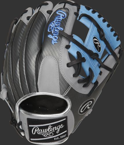 PRO204-2CBH 11.5-inch Heart of the Hide ColorSync I-Web glove with a Hyper Shell back and black ColorSync patch