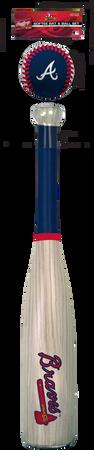 MLB Atlanta Braves Bat and Ball Set