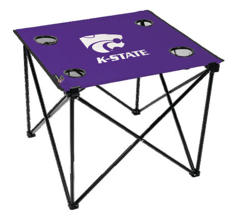 NCAA Kansas State Wildcats Deluxe Tailgate Table