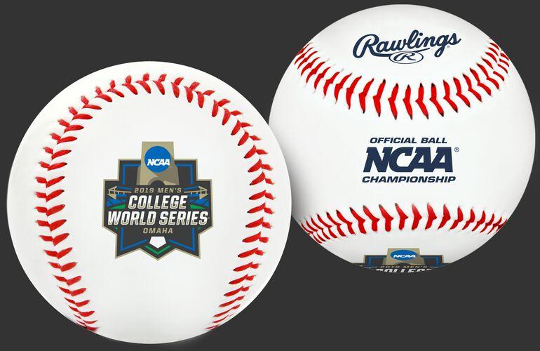 2019 NCAA College World Series Replica Baseball