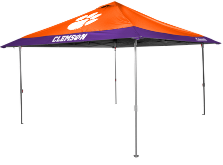 NCAA Clemson Tigers 10x10 Eaved Canopy