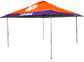 NCAA Clemson Tigers 10x10 Eaved Canopy