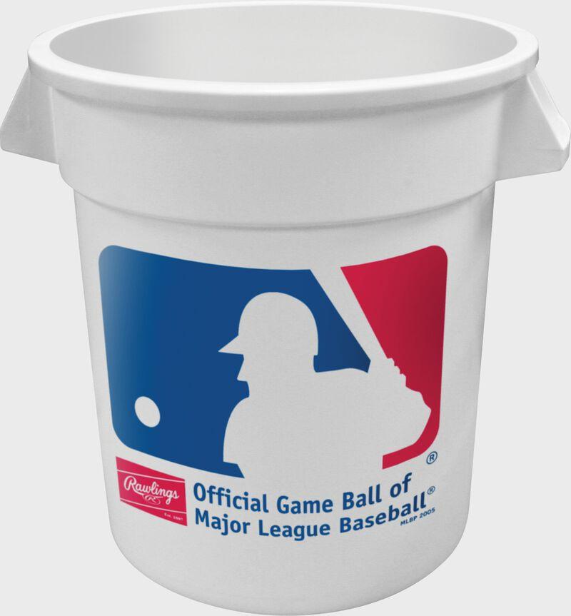 MLB logo on a white MLB Big Bucket - SKU: BIGBUCK6PK