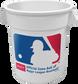 MLB logo on a white MLB Big Bucket - SKU: BIGBUCK6PK image number null